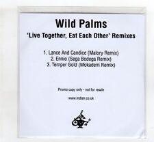 (IG99) Wild Palms, Live Together Eat Each Other (remixes) - 2016 DJ CD