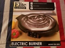 Elite Cuisine Single Electric Burner