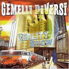 GEMELLI DIVERSI - REALITY SHOW -  CD  NUOVO SIGILLATO