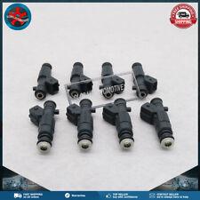 New Set of (8) Fuel Injectors 0280156211 For Chevrolet Gen III EV1