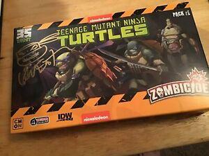 SDCC 2019 Teenage Mutant Ninja Turtles Zombicide Signed Kevin Eastman Sealed