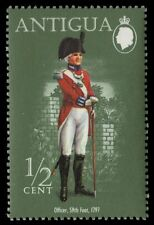 ANTIGUA 329 (SG380) - 59th Foot Regiment Officer, 1797 (pf9913)