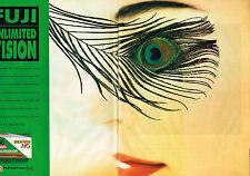 PUBLICITE ADVERTISING 094  1993  FUJI  UNLIMITED VISION film FUJICOLOR ( 2 p)