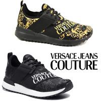 VERSACE Jeans COUTURE Scarpe sportive sneakers Donna nero E0VUBSG5 SALDI 36 41
