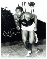 O.J. Simpson Signed 8x10 Photograph with JSA Authentication