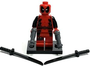 Lego Deadpool Minifigure (6866) Marvel Minifigure Mint Condition