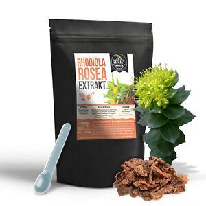 Rhodiola Rosea EXTRAKT   100g PULVER   Rosenwurz   Rosenwurzpulver - naturrein