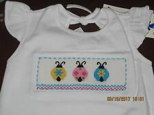Vive La fete Girl Smocked short set Ladybugs sz 2T NWT! WOW Sale!!! Exquisite