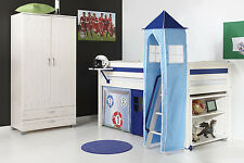 BLUE TOWER FOR CHILDRENS MIDSLEEPER OR BUNK BED