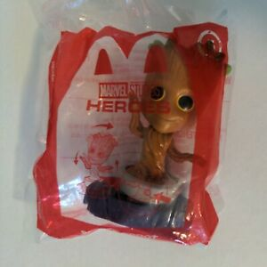 Marvel Studios Heroes #5 Potted Groot 2020 McDonalds Happy Meal Toy NEW Sealed