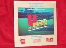 OST LP U BOATS: THE WOLFPACK CHRISTOPHER YOUNG 1988 CERBERUS SEALED
