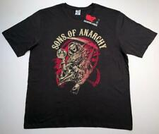 NEW Authentic SOA Men's 2XL SONS OF ANARCHY Reaper Grey gray cotton T-shirt