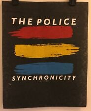 The Police 1983 Synchronicity PROMO SAMPLE T-Shirt VINTAGE VTG HTF RARE Sting