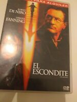 Dvd  EL ESCONDITE DE ROBERT DE NIRO