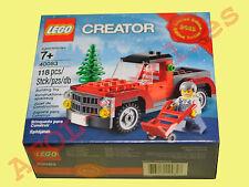 LEGO 40083 Christmas (Weihnachten) Creator Tree Truck Limited Edition