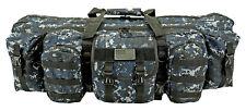 "42"" Ranger Double Rifle Bag AR15 Tactical Rifle Shooting Case 223 762 BLUE Digi*"