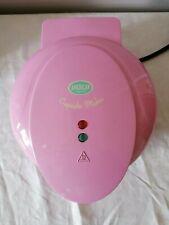 American Original Pink Mini Cupcake Maker Kids Baking Cooking