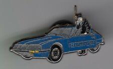 RARE PINS PIN'S .. GENDARMERIE NATIONALE AUTO CAR RADIO CITROEN SM 1973 ~EQ