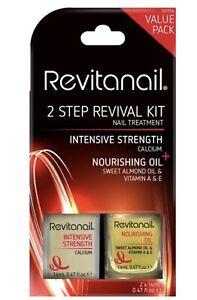 Revitanail 2-Step Nail Revival Kit. Rrp$26