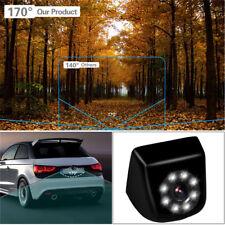 Car Rear View Backup Camera 170° Vision Parking Dash Cam Night Vision color CCD