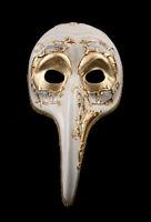 Maschera Turco Di Venezia A Lunghi Naso Musica Dorata Veneziano VG16 1494
