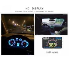 5.8'' HD Car HUD Fuel Consumption Distance Low Voltage Warning Nano-tech A6H6