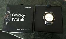 Samsung Galaxy Watch SM-R805F 46mm Silver Case Classic Buckle Onyx Black - LTE