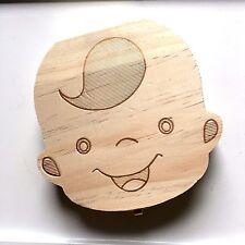 Kids Baby Tooth Fairy Box Organizer for Boy Free S/H b3