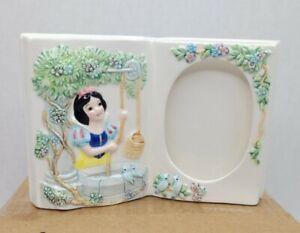 Schmid The Walt Disney Company Snow White Ceramic Picture Frame.