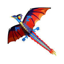 Flying Dragon Kite Classic Kids Toy Outdoor Play Fun Children Game Activity New