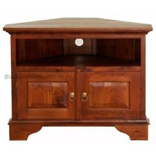 Corner TV Cabinet, Entertainment Unit, Light Pecan,Timber, Corner Unit.