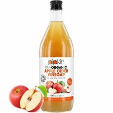 Vinaigre de Cidre de Pommes Brut avec La Mère 100% Bio OrganicPipkin – Pur, n