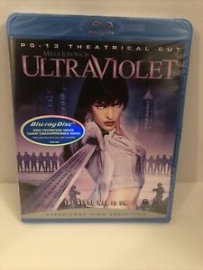 Ultraviolet (Blu-ray Disc, 2006, Rated Theatrical Edition) Factory Sealed
