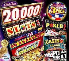 Club Vegas Triple Pack -20,000 Slots and Much More! by Viva Media (New & Sealed)
