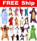 Hot Sale! Adult Unisex Kigurumi Pajamas Animal Cosplay Costume Onsie Sleepwear
