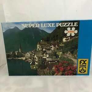 FX Schmid Super Luxe Austrian Scenery 2500-Piece Jigsaw Puzzle Made in W.Germany