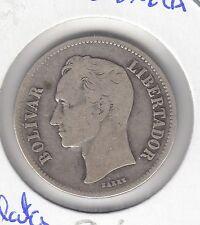 C.R 0099 MONEDA DE VENEZUELA GRAM 10 PLATA AÑO 1936