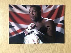 Frank Bruno Boxing Signed Photo