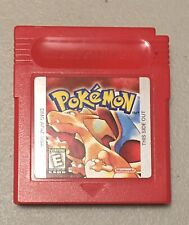 POKEMON RED GAMEBOY Edition TESTED AUTHENTIC SAVES Nintendo FREE SHIPPING