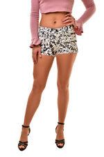 J BRAND Women's Denim SR9033T142 Low Rise Mini Shorts White Size 24 $165 BCF811