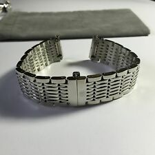 MICHELE DECO 18mm stainless watch bracelet  - ms18cd235009 - fits deco only