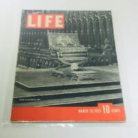 Vintage Life Magazine: March 15 1937 - Throne In Westminster Abbey