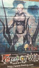 Force of Will FOW A2 Overlord of the Seven Lands, Valentina ORIGINAL WALL BANNER