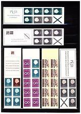 Nederland Partijtje Luxe Postzegelboekjes tussen PB 3a en PB 7a CW 23,50 euro