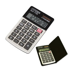 Citizen pocket calculator SLD-7708 with 8-digit display