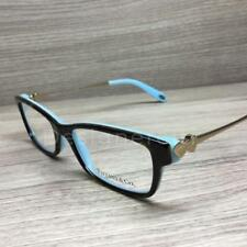 Tiffany & Co. TF 2140 Eyeglasses Havana Turquoise Gold 8134 Authentic 51mm