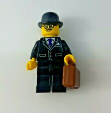 LEGO Businessman Minifig - Series 8 col120 - includes briefcase & bowler hat