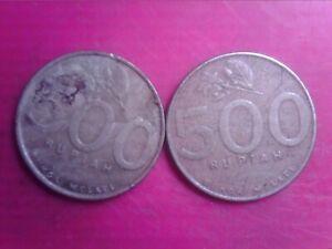 INDONESIA  500  RUPIAH    2001   2003    JUN17F