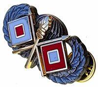 Signal Jump Wing Airborne Badge US Army Parachutist Insignia Commo Pin