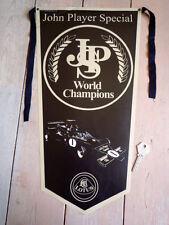 John Player Special LOTUS FORMULA UNO F1 JPS pennant RACING RACE AUTO classica